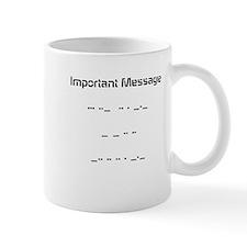 Morse Code Mug