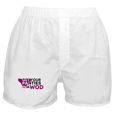 Get Your Panties in a WOD Boxer Shorts