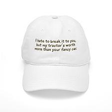My tractor's worth... Baseball Cap