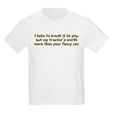 My tractor's worth... Kids T-Shirt