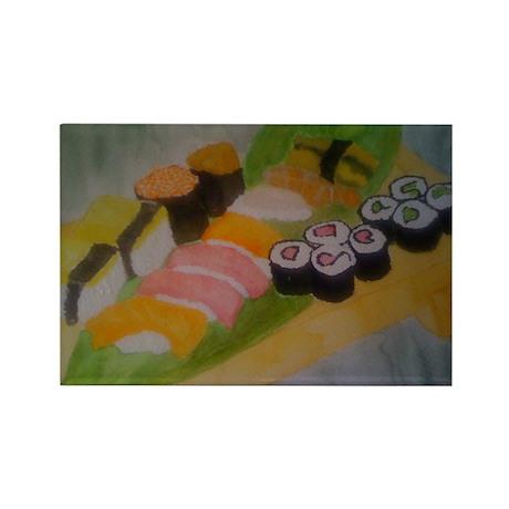 sushi Rectangle Magnet