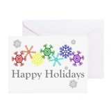 Gay pride Greeting Cards (10 Pack)