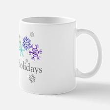 Rainbow Snowflakes Mug