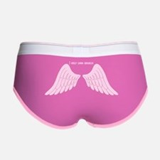 I only look angelic (pink) Women's Boy Brief