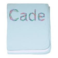 Cade Paper Clips baby blanket