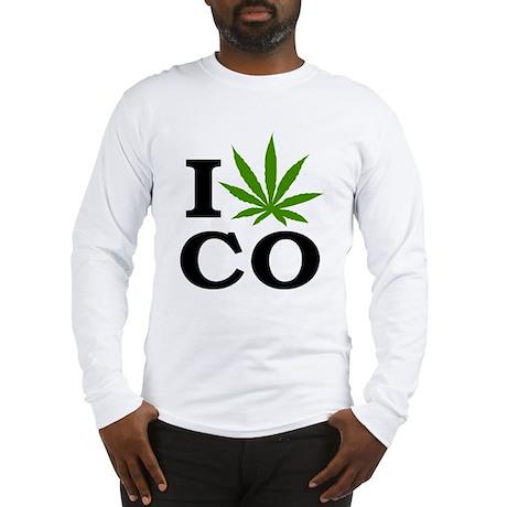 I Cannabis Colorado Long Sleeve T-Shirt
