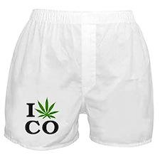 I Cannabis Colorado Boxer Shorts