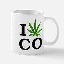 I Cannabis Colorado Mug