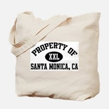 Property of SANTA MONICA Tote Bag