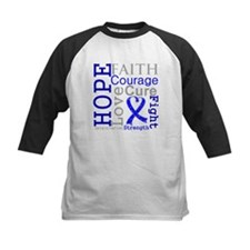 Colon Cancer Hope Courage Tee
