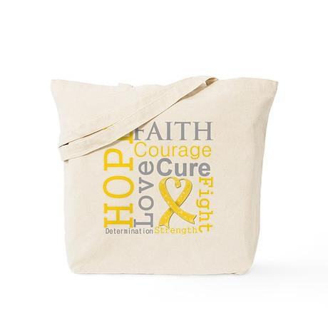 Childhood Cancer Hope Tote Bag