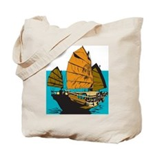 Chinese Junk Tote Bag