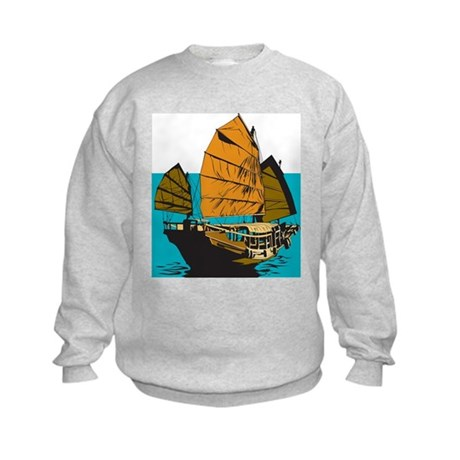 Chinese Junk Kids Sweatshirt