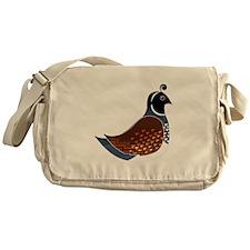 Quinn the Quail Messenger Bag