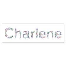 Charlene Paper Clips Bumper Bumper Sticker