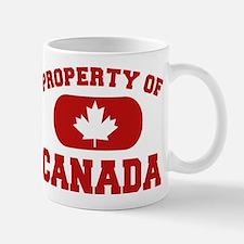 Property of Canada Maple Leaf Mug