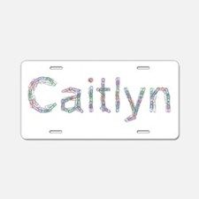 Caitlyn Paper Clips Aluminum License Plate
