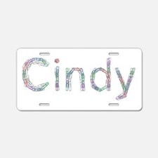 Cindy Paper Clips Aluminum License Plate