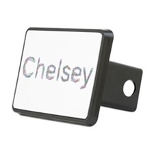 Chelsey Paper Clips Hitch Cover
