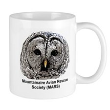 Unique Barred owl Mug