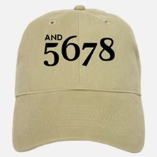 And 5678 Baseball Baseball Cap