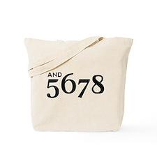 And 5678 Tote Bag