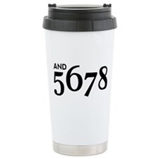 And 5678 Stainless Steel Travel Mug