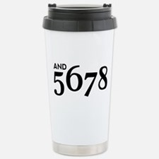 And 5678 Travel Mug