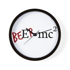 beEr=MC Wall Clock