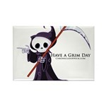 Have a Grim Day Rectangle Magnet (10 pack)