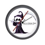 Have a Grim Day Wall Clock