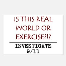 9/11: REAL WORLD? Postcards (Package of 8)