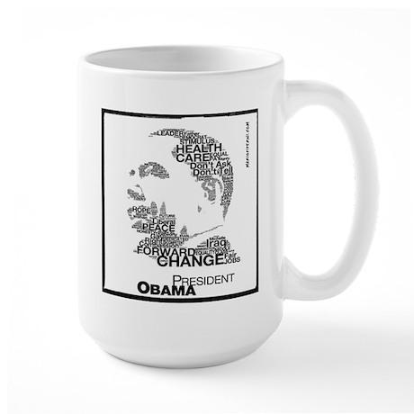 President Obama Large Mug