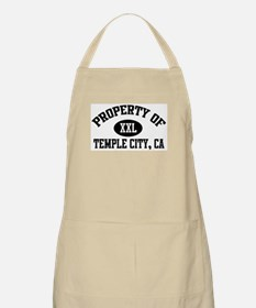 Property of TEMPLE CITY BBQ Apron