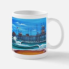 Huntington Beach Pier CIrca 1983 Mug