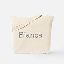 Bianca Paper Clips Tote Bag