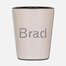 Brad Paper Clips Shot Glass