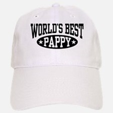 World's Best Pappy Baseball Baseball Cap