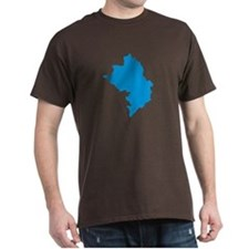 Azerbaijan map T-Shirt