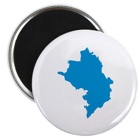 Azerbaijan map Magnet