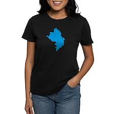 Azerbaijan map Tee