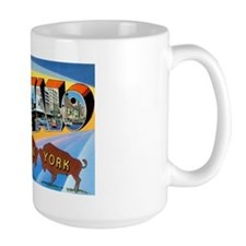 Buffalo New York Greetings Mug