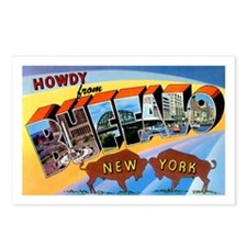 Buffalo New York Greetings Postcards (Package of 8
