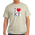 I love KY Ash Grey T-Shirt
