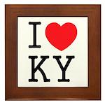 I love KY Framed Tile
