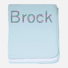 Brock Paper Clips baby blanket