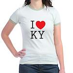 I love KY Jr. Ringer T-Shirt