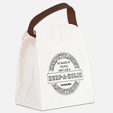 I am a Herp-A-Holic Canvas Lunch Bag