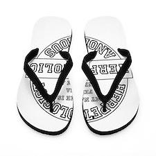 I am a Herp-A-Holic Flip Flops