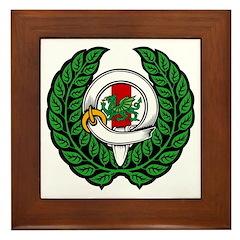 Midrealm Chiv Laurel 1 Framed Tile